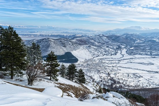 Nymfaio nest in the county of Florina,Greece at height 1350m. It is a winter destination and best known for the shelter of bears and woolfs that were in captivity. It is still keeping its traditional buildings.