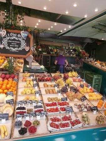 Viktualienmarkt: Echoppe à fruits