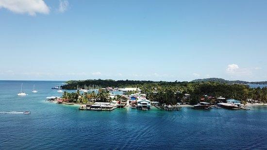 Isla Colón, Panamá: Mistral Center, SUP School in Carenero's Island