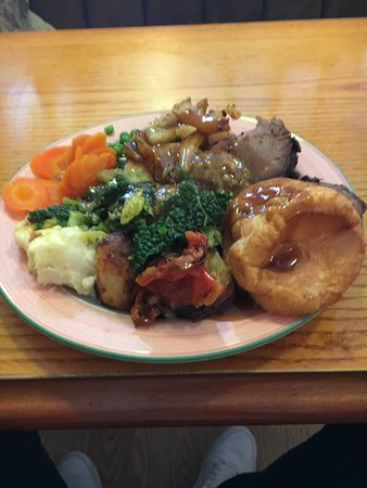 Bickleigh, UK: Turkey and Beef