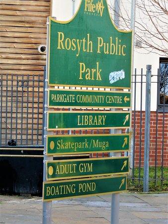 Rosyth, UK: sign