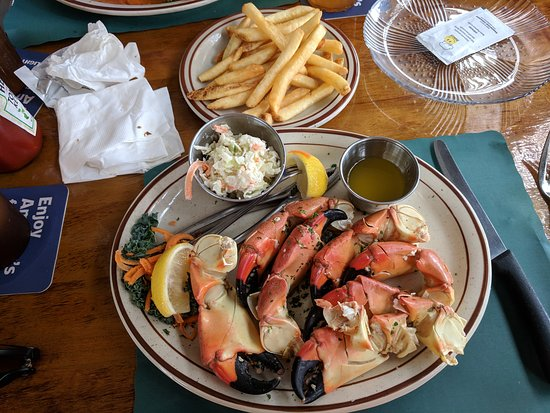 Little Bar Restaurant: Rock Crab Claws.  Simple but very delicious