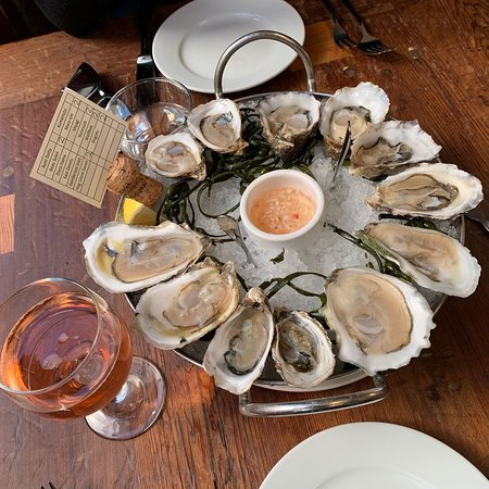 Oysters and Rosé