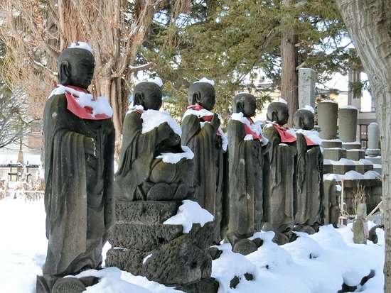 Daikaku-ji Temple: 大覚寺~山門前の六地蔵