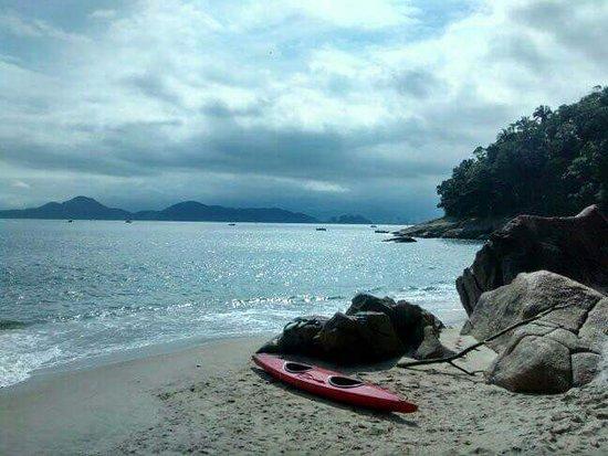 Praia do Tombo Foto