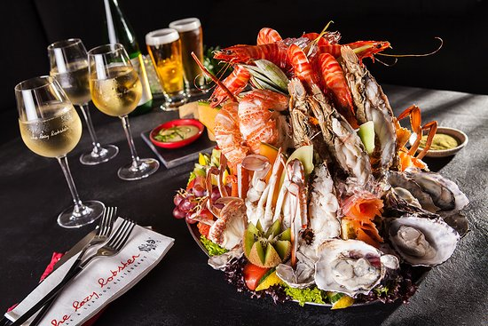 The Lazy Lobster: Special Seafood Platter