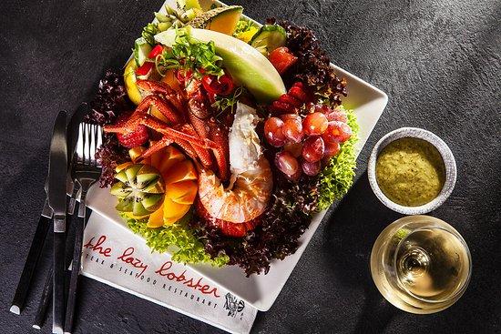 The Lazy Lobster: Fresh Lobster Salad