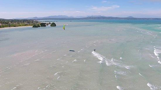 Bangkala, إندونيسيا: Best kitesurfing spot in Indonesia