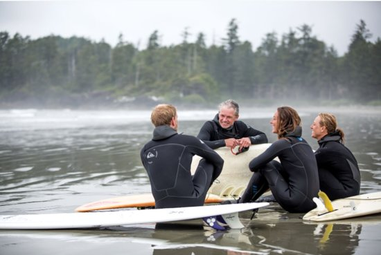 Surfing in Tofino – Photo by: Noel Hendrickson