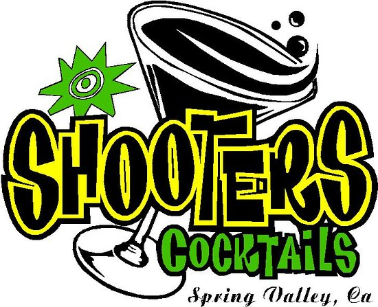 Shooters Cocktails, Spring Valley Logo