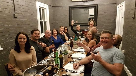 A cheerful group travelled to Scone from Wollongong for a weekend in September 2018 to show their support for country towns struggling in the ongoing drought. They supported local accommodation, enjoyed the private dining room at Mosaique on Saturday night and were treated to a scrumptious breakfast at another local cafe... sharing the love... thanks guys ;-)