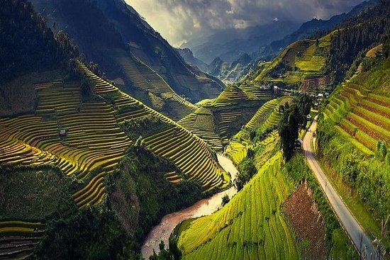 6-tägige Tour durch Nordvietnam...