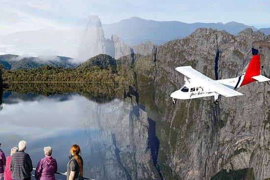 来自霍巴特的斯特拉恩一日航空之旅,包括戈登河游船
