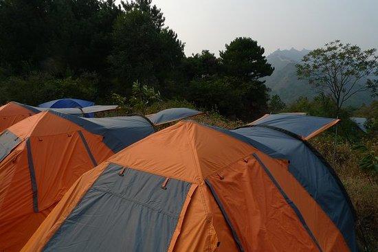Private overnachtende kampeertrip ...