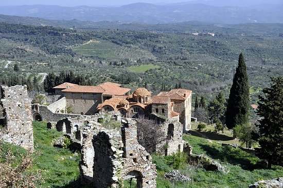 Mystras私人一日游从雅典或纳夫普利翁与午餐