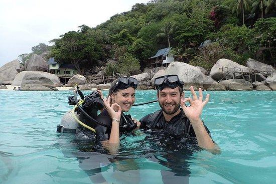 PADI潜水员课程适合初学者两天一晚的住宿包括在内