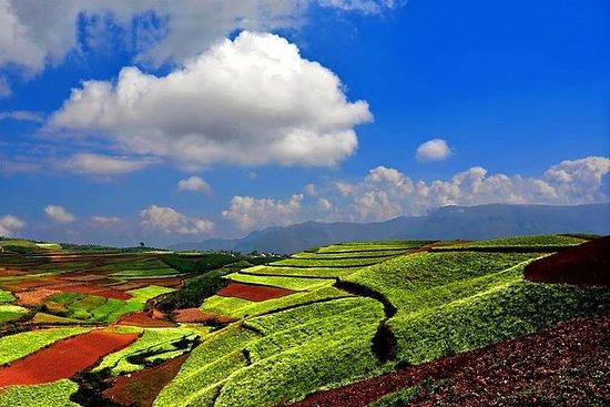 2 Tage Kunming Dongchuan Red Land...