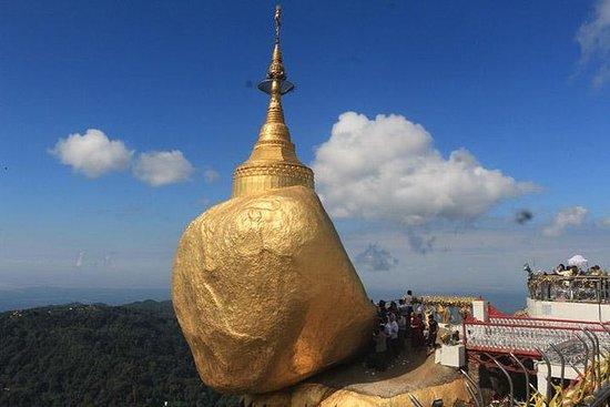 Viaggio di notte a Golden Rock Pagoda
