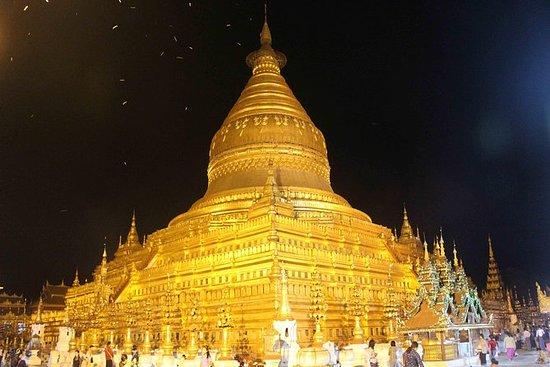 4 dagers tur til Golden Rock Pagoda...
