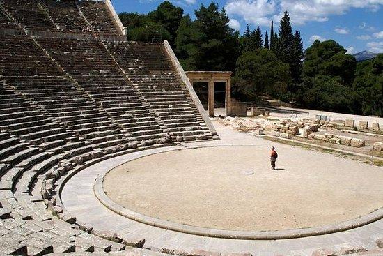 Mykene-Epidaur-Korinth-Olympia-Delphi...