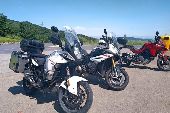 Toskana Motorradtour von Küste und...