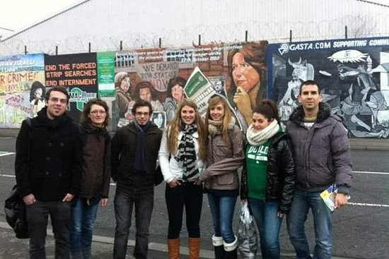 Tour mundial de táxis em Belfast