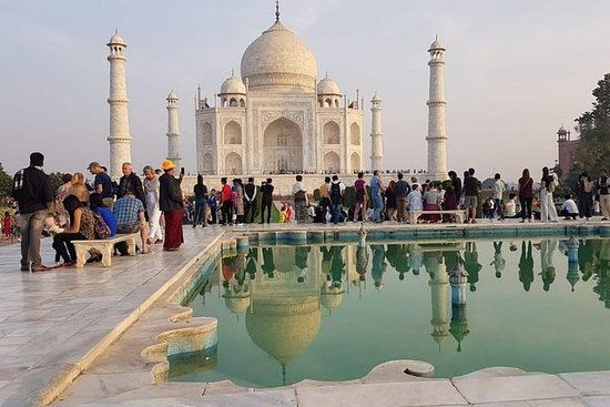Private Taj Mahal Agra Fort Day Tour...