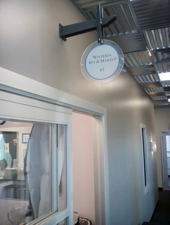Wisteria Spa and Makeup is a suite in Sola Salons.