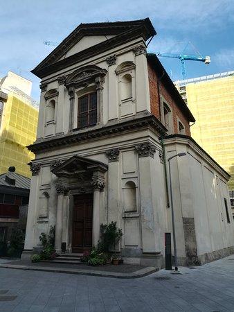 Chiesa di San Vito in Pasquirolo на Largo Corsia Dei Servi, январь.