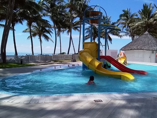 Nice Kidies Pool With Kids Club Hut In The Background Picture Of