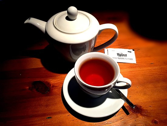 The Kukhnya: Чёрный чай в чайнике