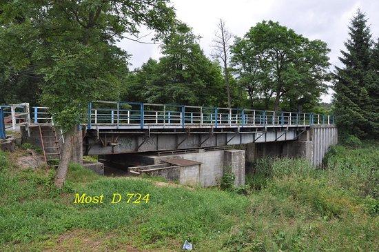 Miedzyrzecz, Polonia: Most forteczny - obrotowy D 724 koło wsi Kursko