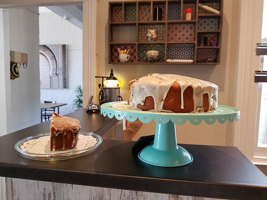 Enjoy coffee and cake Tues - Friday from 9am in peaceful surroundings