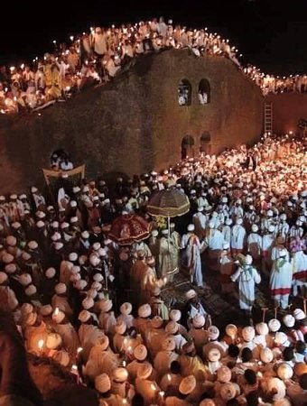 Gonder, เอธิโอเปีย: This is Christmas Time In Lalibela