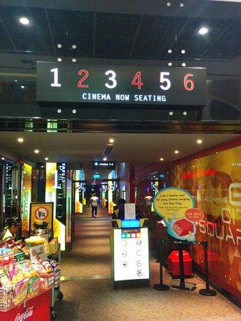 City Square Mall, Singapore, Cinema Hall.