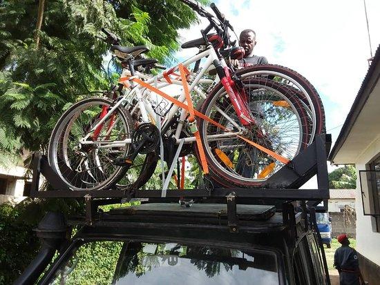 Arusha Region, Τανζανία: Getting Ready for Safaris! #biking #bike #safaris