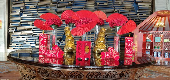 Chifeng, China: Decoration for the Chinese New Year