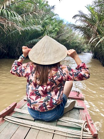 Happiness on the Mekong river cruise