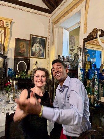Restaurante Museo 1514: Et, le soir, la Salsa avec les musiciens...