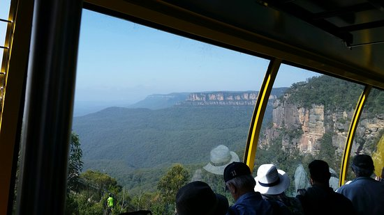 All Inclusive Blue Mountains Small-Group Day Trip from Sydney: Cable car view