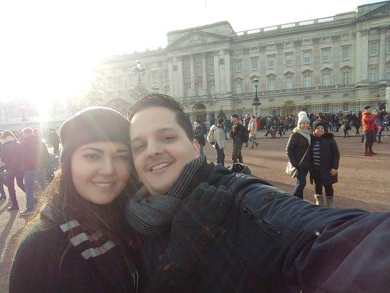 Guri in London: Palácio de Buckingham