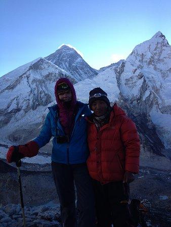 Katmandun laakso, Nepal: Mont Everest from Kala Pattar