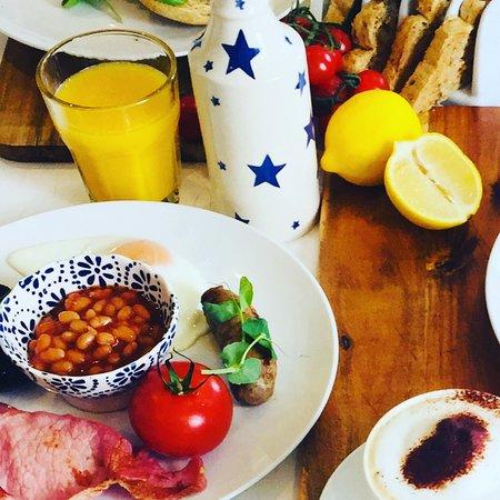 Close up, breakfast.
