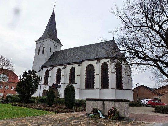 Evangelische Kirche in Hamminkeln, an der Markt Straße.