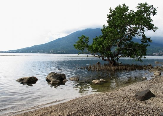 Maitara island, facing Ternate