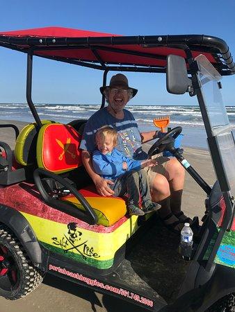 Grandson to the Beach