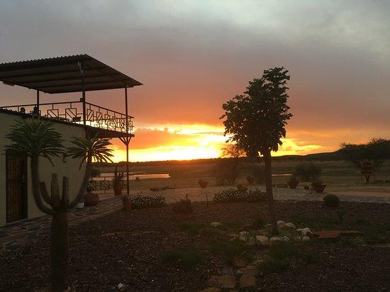 Okahandja, Namibia: Sunset