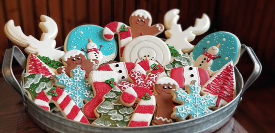 Fairfield, Αϊντάχο: Christmas Sugar Cookies at The Country Crumb