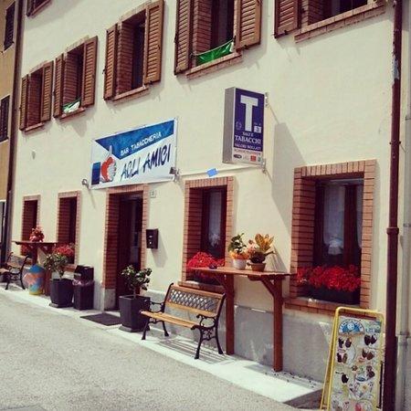 Chiusaforte, Italië: Bar Agli Amici