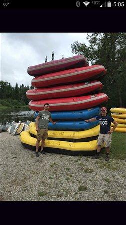 Glennie, Мичиган: Rafts